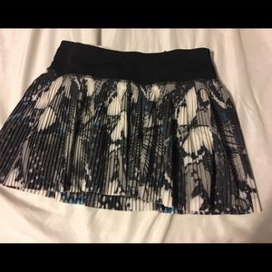 Lululemon butterfly print skirt